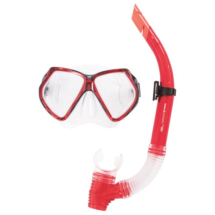 Набор для плавания Cozumel (маска, трубка) в ассортименте, от 14 лет (24030)