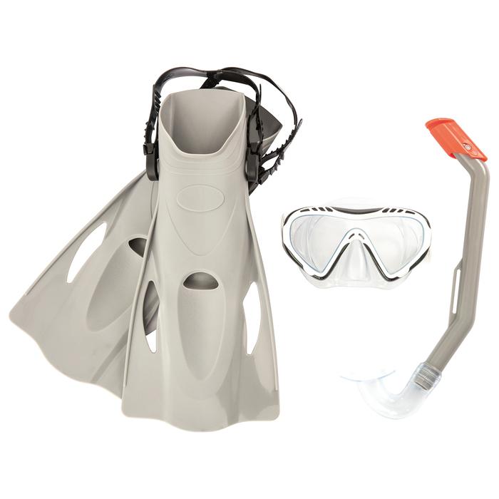 Набор для плавания Firefish(маска, трубка, ласты р-р 37-41)в ассортименте,от 7 лет(25025)