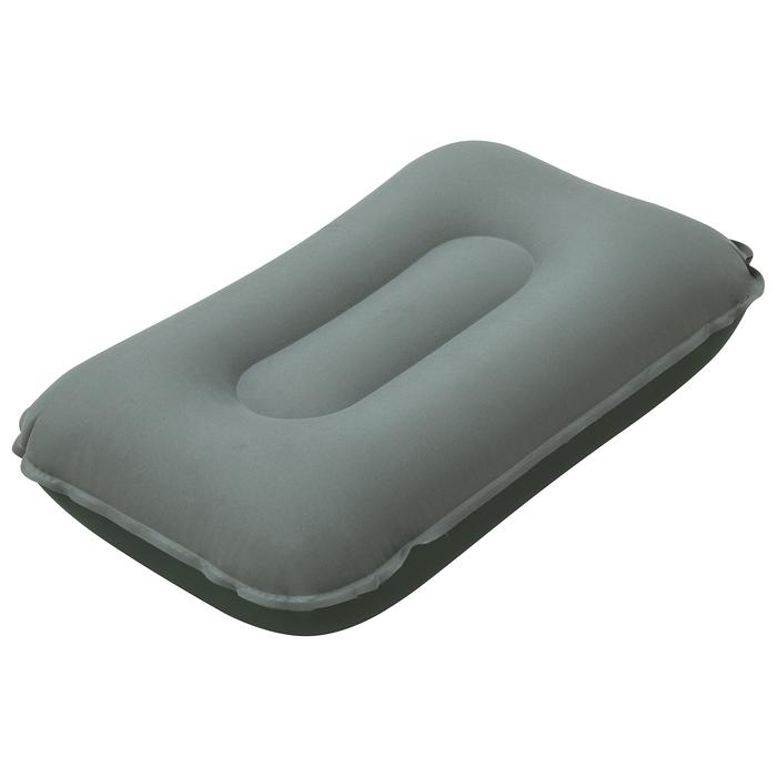 Подушка надувная Pillow, для кемпинга 42х26х10 см, с тканевым покрытием, цвет МИКС 69034