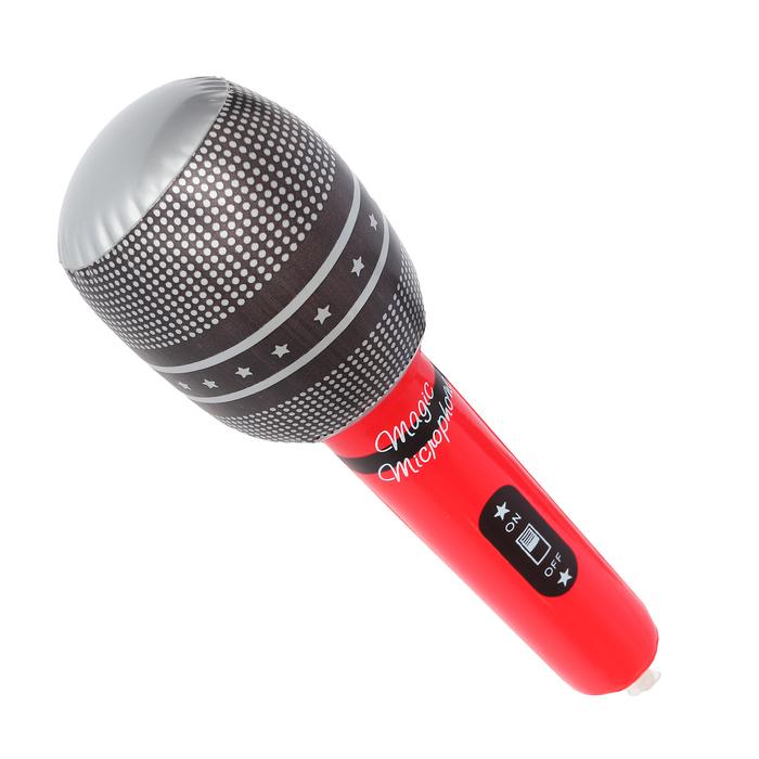 """Игрушка надувная """"Микрофон"""", 25 см"""