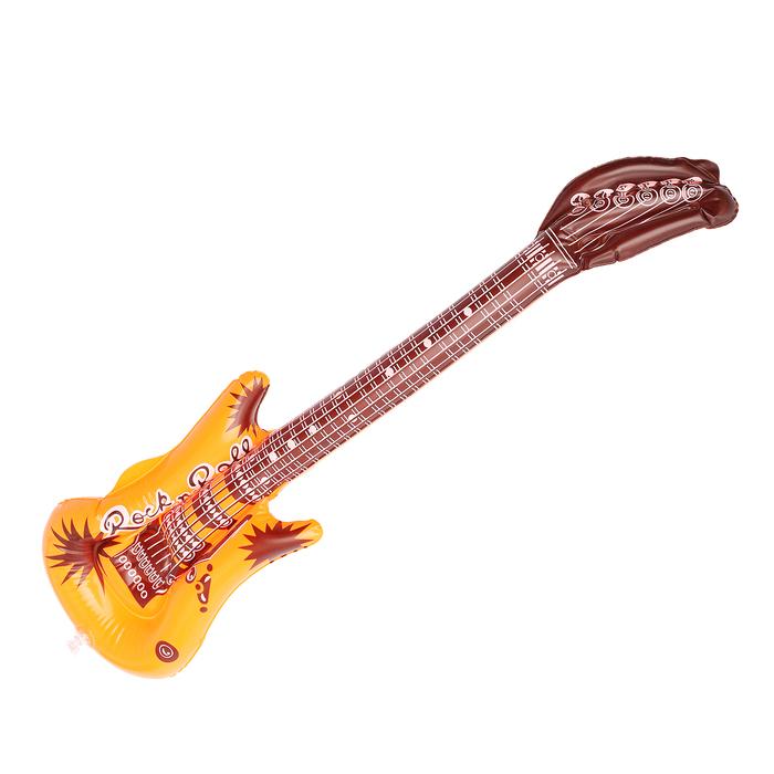 """Игрушка надувная """"Гитара"""", 50 см, цвета микс"""