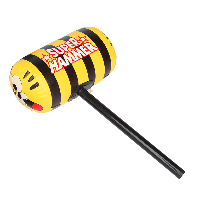 """Игрушка надувная - молот """"Пчелка"""", 50 см"""