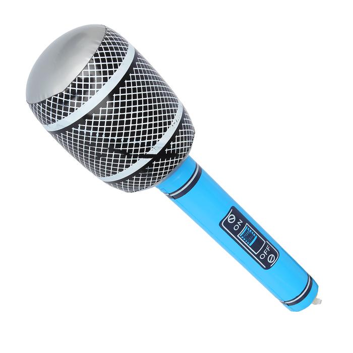 """Игрушка надувная """"Микрофон"""", 30 см, цвета микс"""