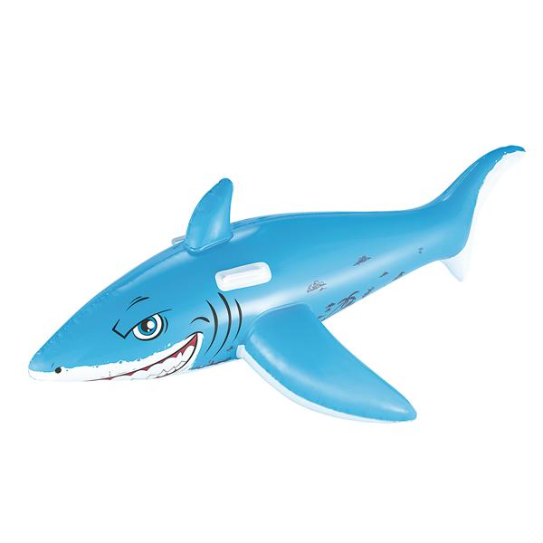 Надувная игрушка для катания верхом Bestway Большая Белая Акула 41032