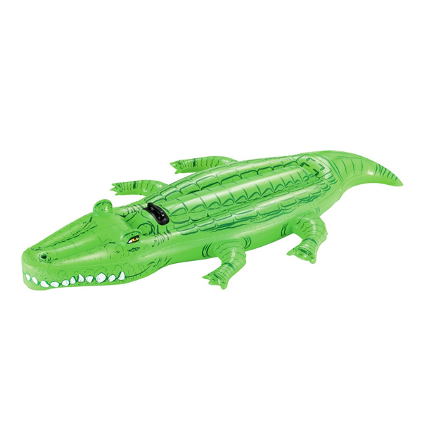 Надувная игрушка для катания верхом Bestway Крокодил 41011