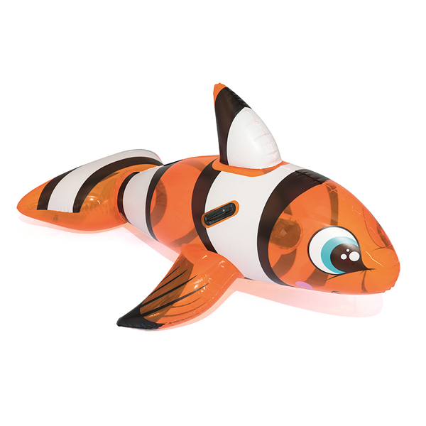 Надувная игрушка для катания верхом Bestway Рыба-клоун 41088