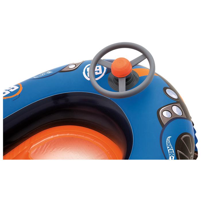 Лодочка надувная Hot Wheels 112х71 см, от 3-6 лет