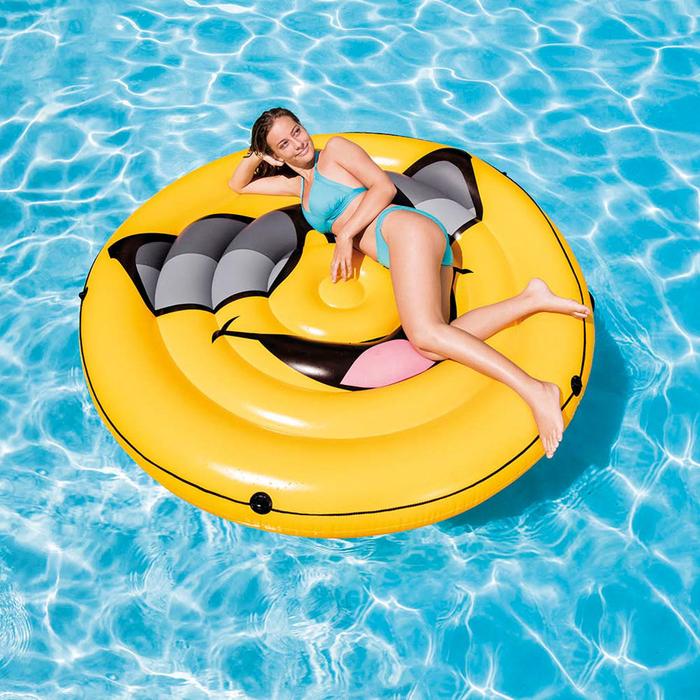 Плот для плавания «Смайл» 173х27 см, 57254EU