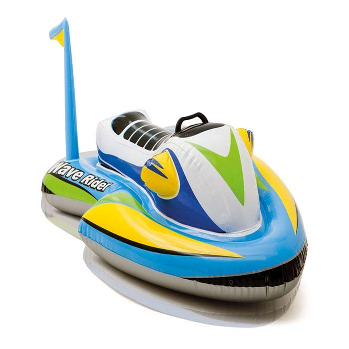 Игрушка надувная для плавания «Скутер» с ручками, 117х77 см, от 3 лет 57520NP INTEX