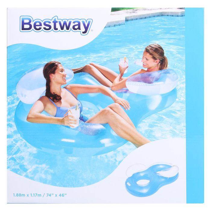 Надувное кресло для плавания Bestway 43009 (188х117 см)
