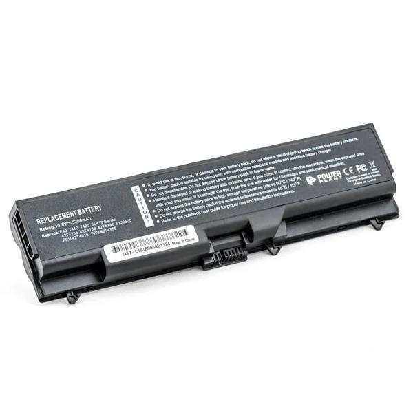 Аккумулятор PowerPlant для ноутбуков IBM/LENOVO ThinkPad SL410K (FRU42T4795, IMSL40LH) 10.8V 5200mAh NB00000069