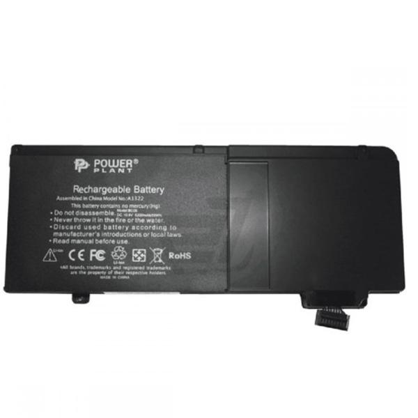 "Аккумулятор PowerPlant для ноутбуков APPLE MacBook Pro 13"" (A1322) 10.8V 5200mAh NB00000098"
