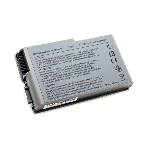 Аккумулятор PowerPlant для ноутбуков DELL Latitude D600 (C1295, DE D600, 3S2P) 11.1V 5200mAh NB00000034