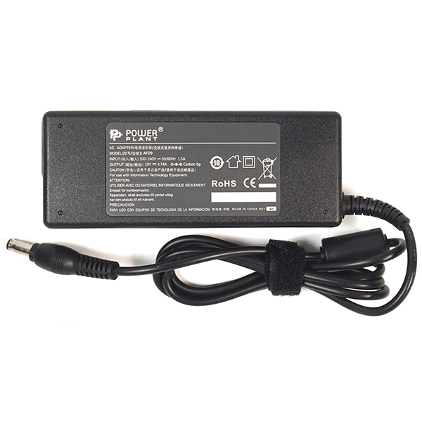 Блок питания для ноутбуков PowerPlant SAMSUNG 220V, 19V 90W 4.74A (5.5*3.0) SA90F5530