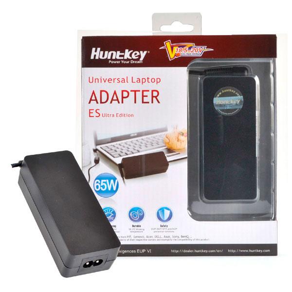 Блок питания ноутбука Huntkey 65ES UltraEdition 65W MAX (HKA06519533-8J)