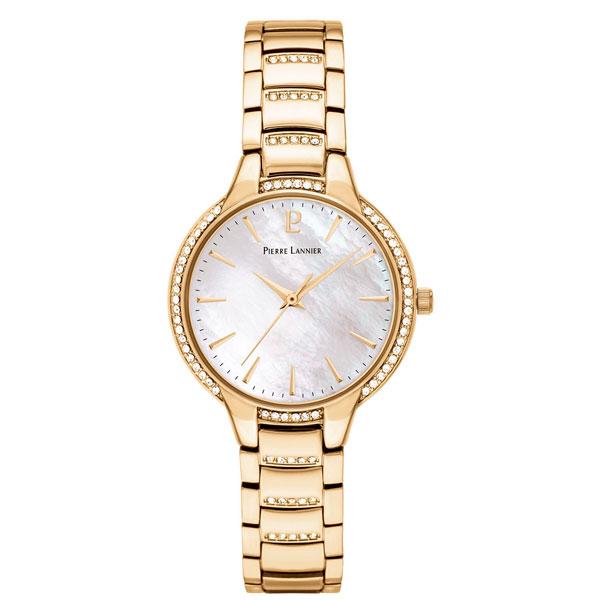 Женские часы Pierre Lannier Gold 037G522