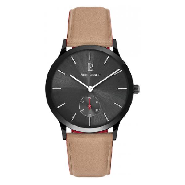 Мужские часы Pierre Lannier Cuir Bleu 222F384