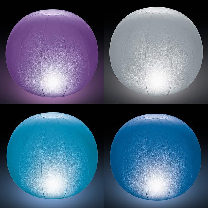 Плавающий светильник «Ледяной шар» 23х22 см