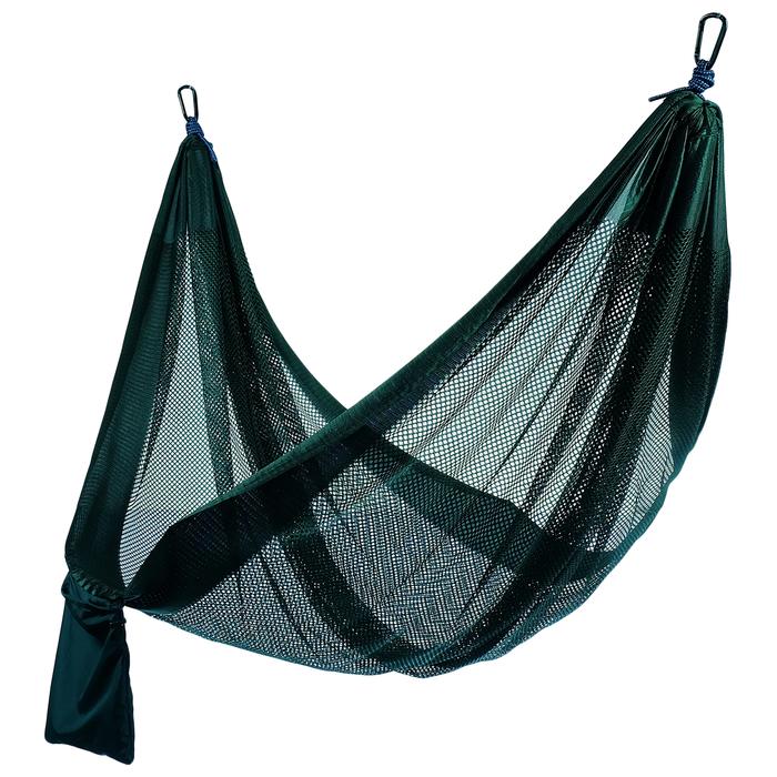 Гамак М-077 260х140 см, нейлон (Зеленый)