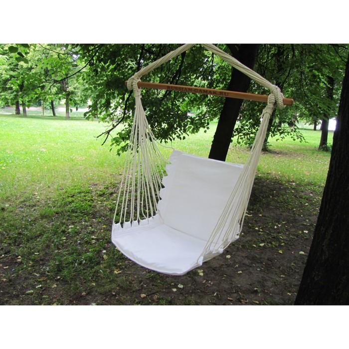 Кресло гамак с поролоновыми вставками RGK-2 (Белый)
