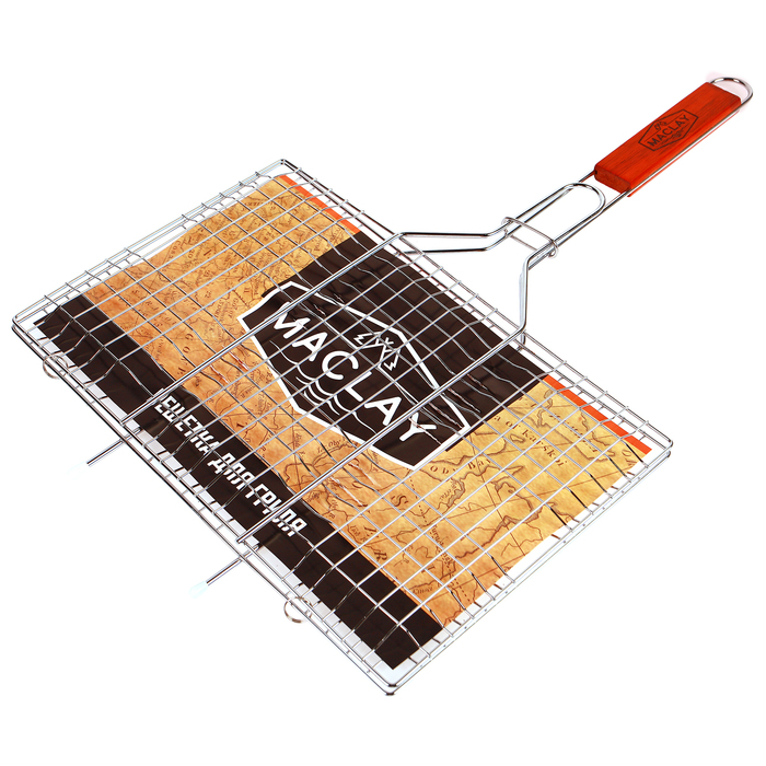 Решётка-гриль для мяса Lux, средняя