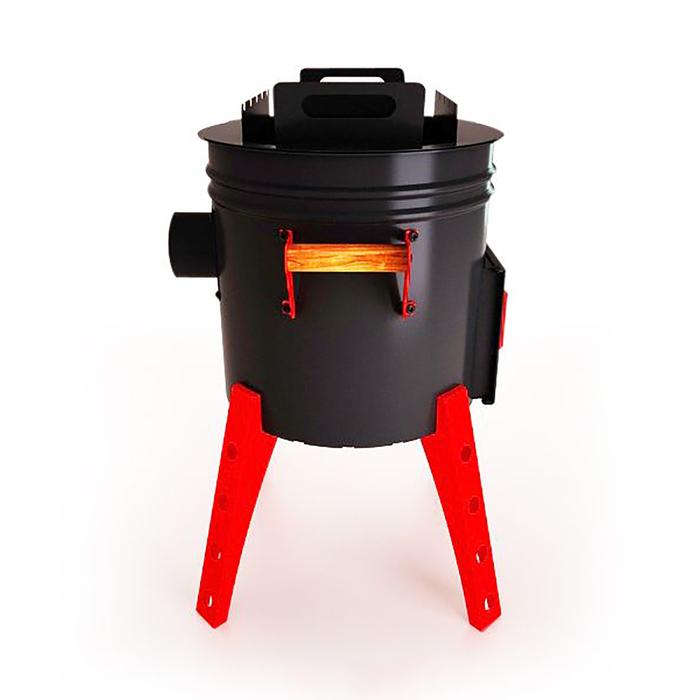 Печь-мангал для казана, 37,5 х 37,5 х 61 см