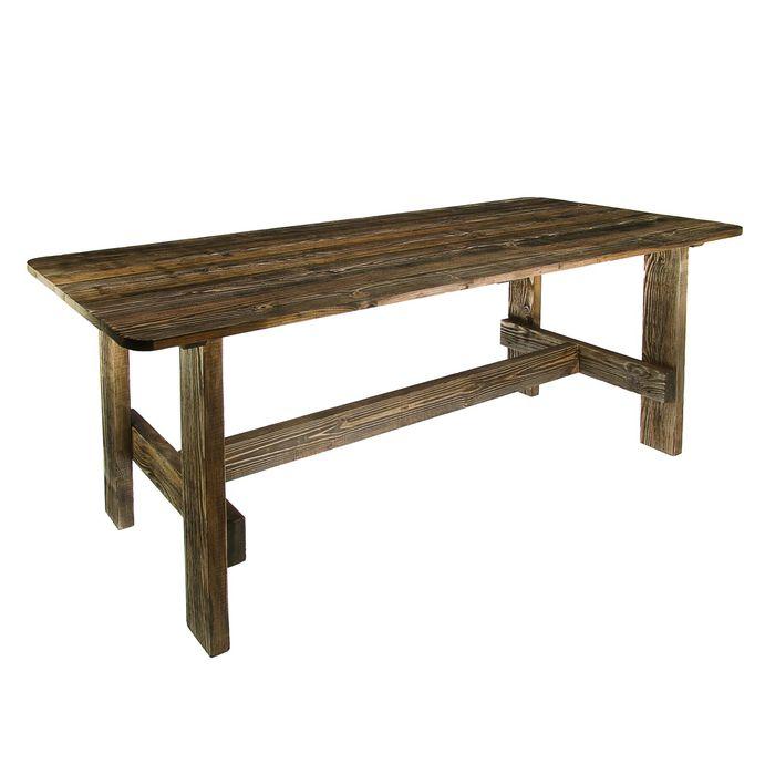 """Стол к набору """"Дачный"""" 150 см, сосна брашированный"""
