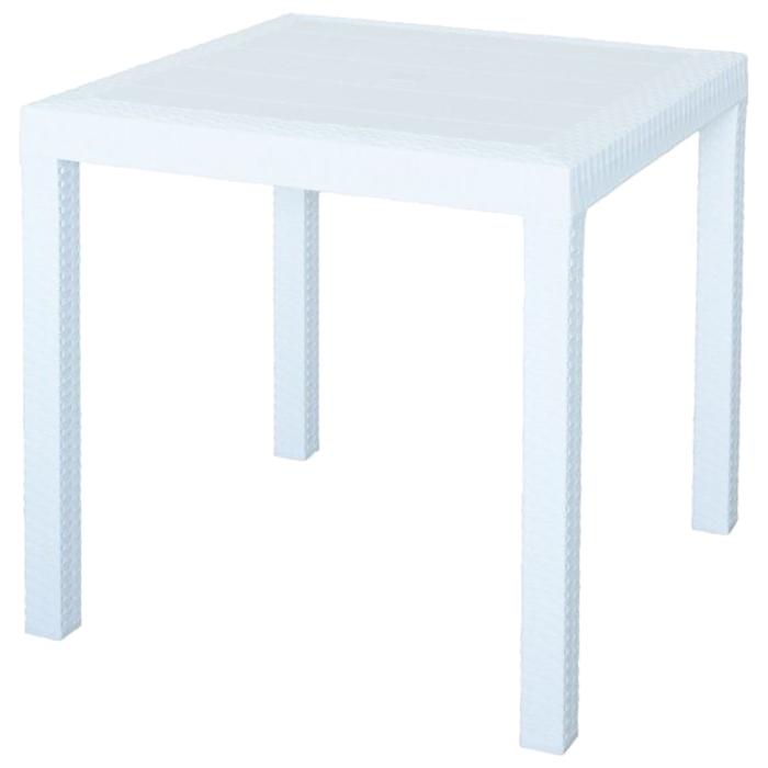 Стол (искусственный ротанг) Dallas Nebraska, цвет белый