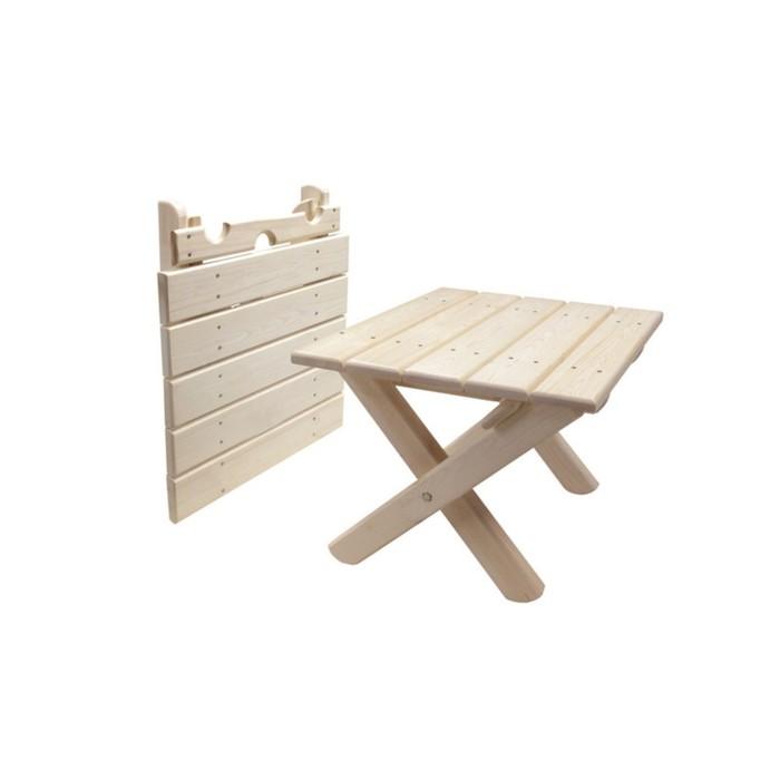 Стол для шезлонгов, 46 × 46 × 40 см, сосна