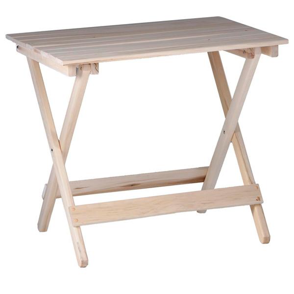 Стол складной 80×60×75см, из липы