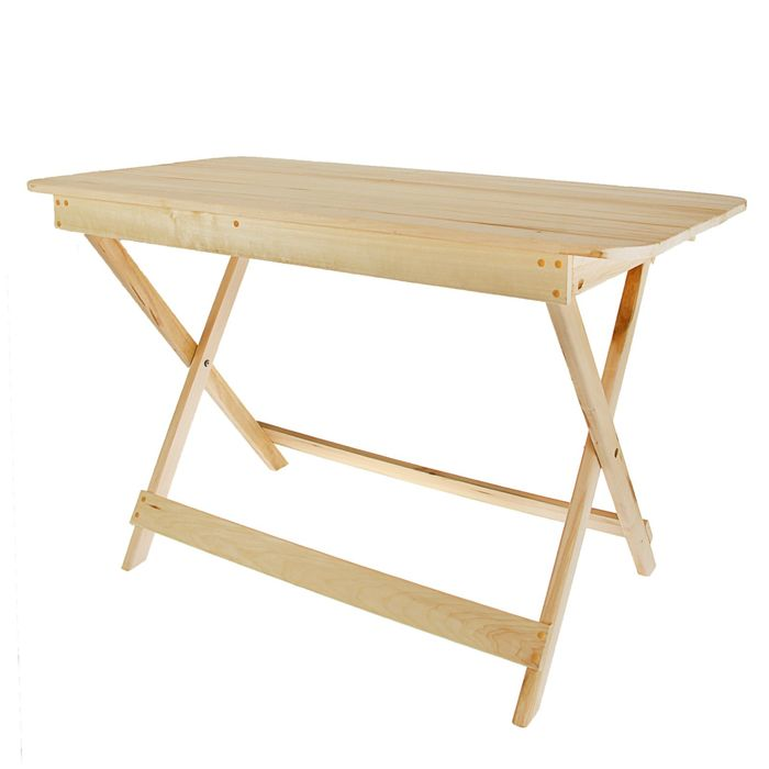 """Стол складной прямоугольный 120х60х75 см """"Добропаровъ"""""""