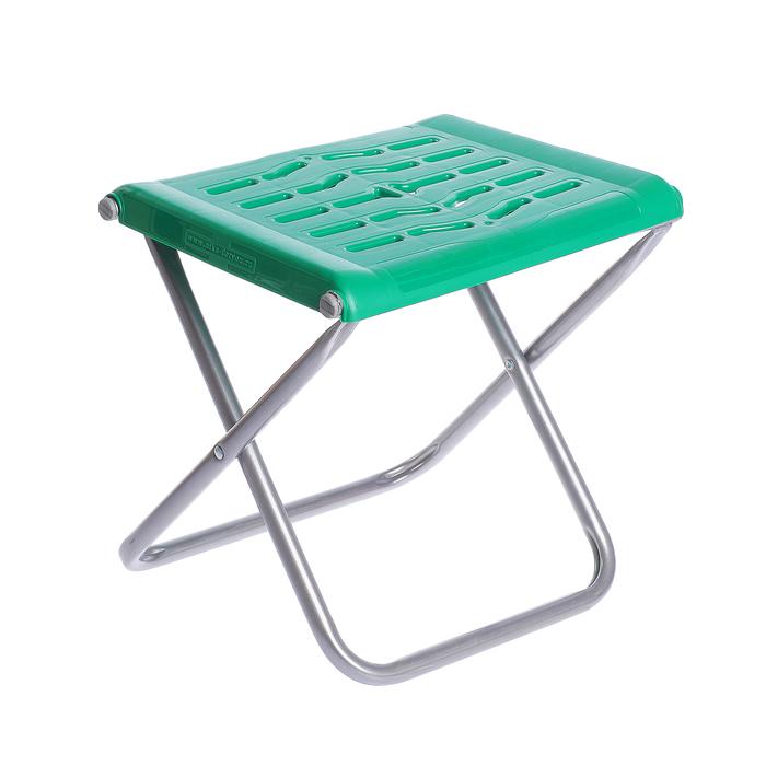 Стул складной, цвет зелёный, 370х295х340мм ПСП4