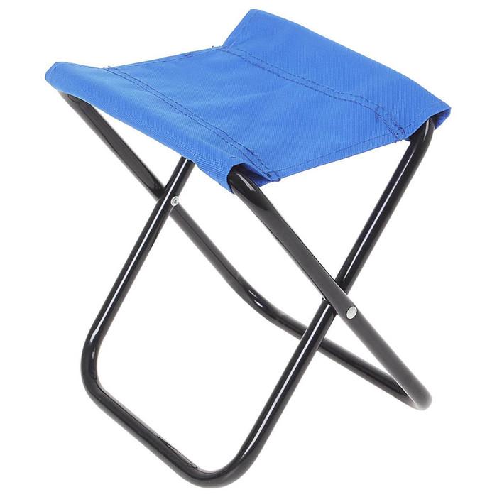 Стул туристический, складной, до 60 кг, цвет синий