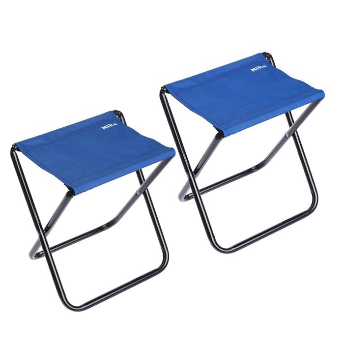 Набор стульев, цвет синий, 2 шт. в сумке НПС, 340х295х370 мм