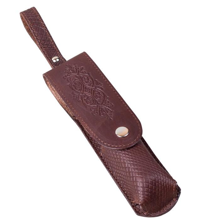 Набор дорожный «Мини» в чехле из натуральной кожи (1 персона)