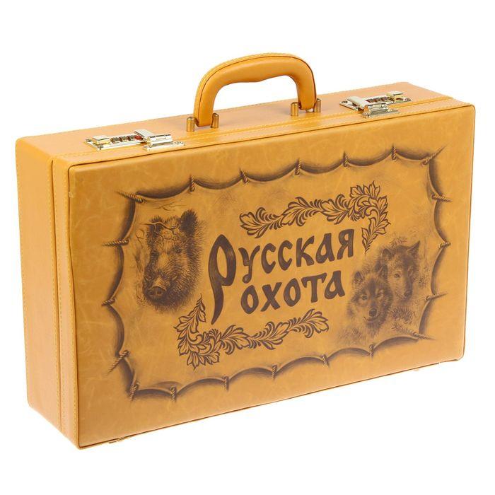 """Набор в чемодане """"Охота на уток"""" 38 предметов"""