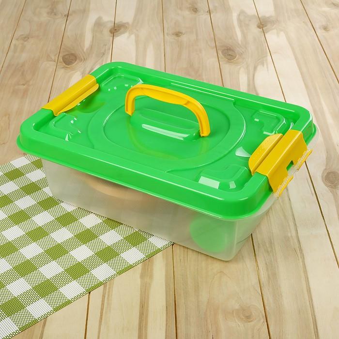 Набор посуды для пикника на 4 персоны «В дорогу», 22 предмета