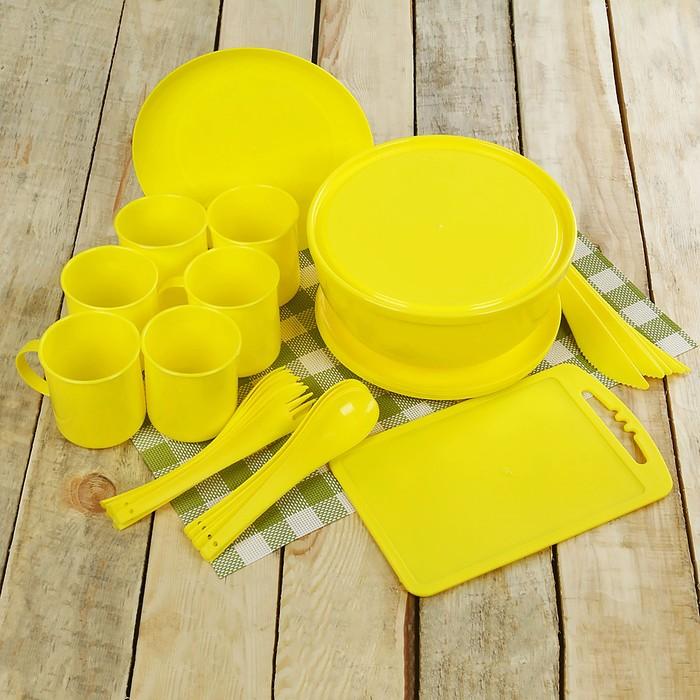 """Набор посуды на 6 персон """"Пир"""", 32 предмета"""