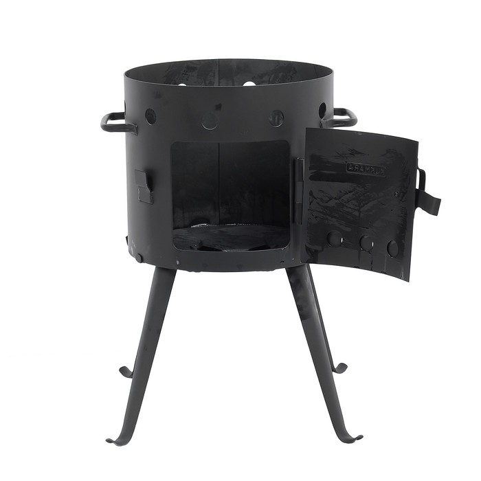 Печь под казан 7 л, толщина металла 2 мм, диаметр 322 мм