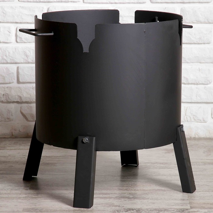 """Печь под казан """"Казанка-440""""   диаметр 44 см, для казанов 18-25 литров, 3 мм"""