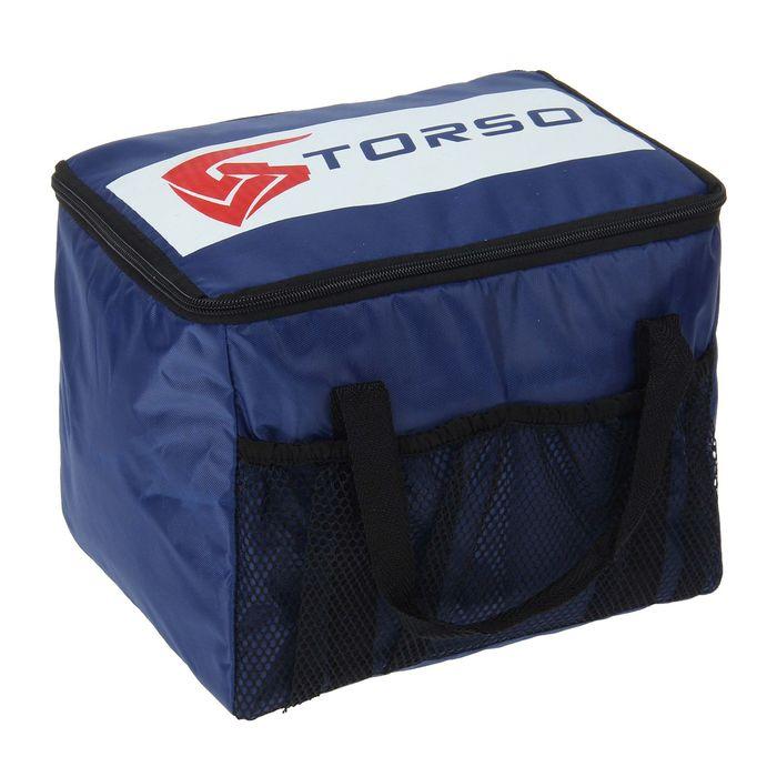 Термосумка TORSO, 27 х 19 х 20 см, синяя