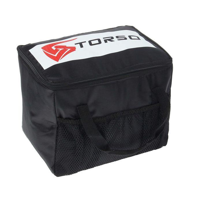 Термосумка TORSO, 27х19х20 см, черная