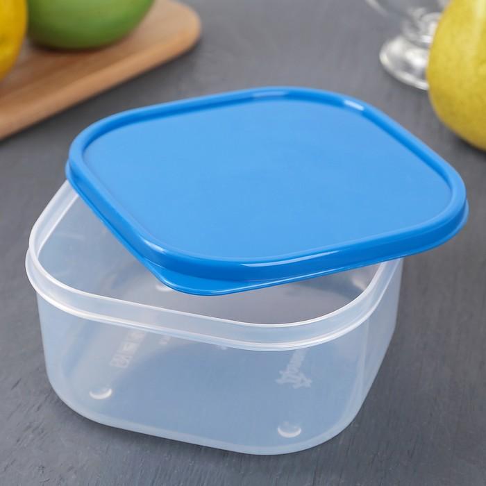 Контейнер пищевой 700 мл, цвет синий