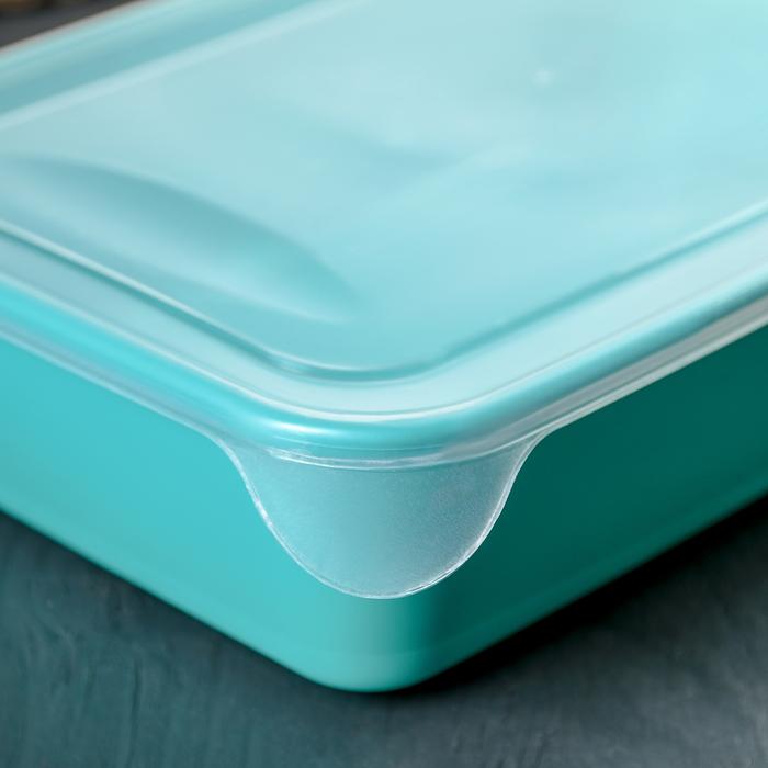 Контейнер пищевой для СВЧ 1,9 л, цвет МИКС