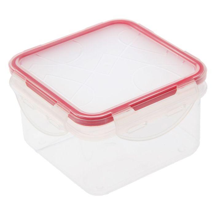 Контейнер для продуктов 0,4 л Clipso, квадратный