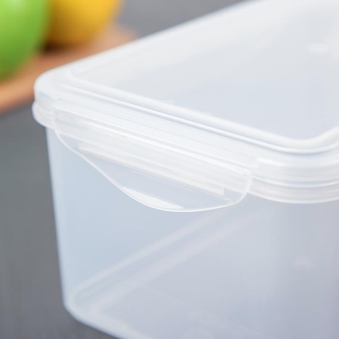 Контейнер для холодильника и СВЧ 1,6 л, с декором