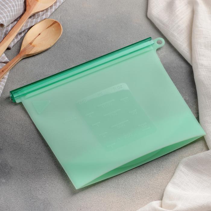 Контейнер-пакет многофункциональный 21,5×18 см, цвет МИКС