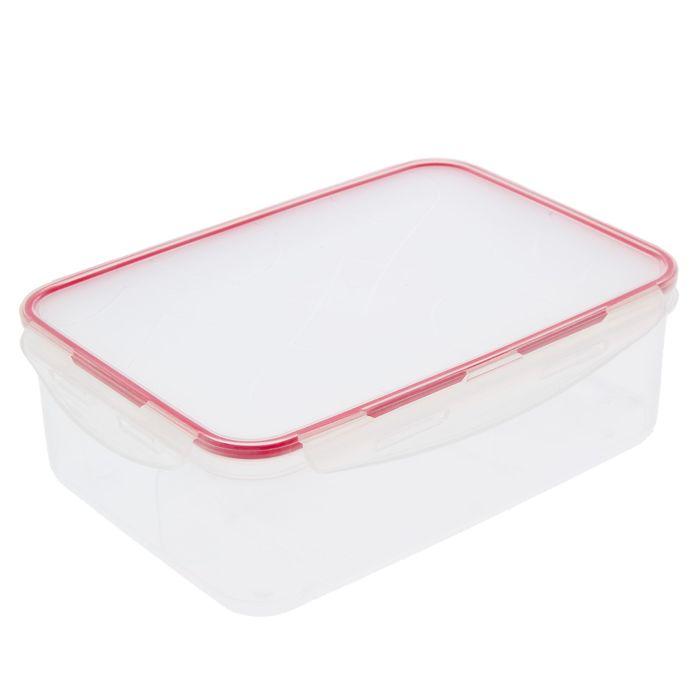 Контейнер для продуктов Clipso прямоугольный 2,5 л, цвет чери
