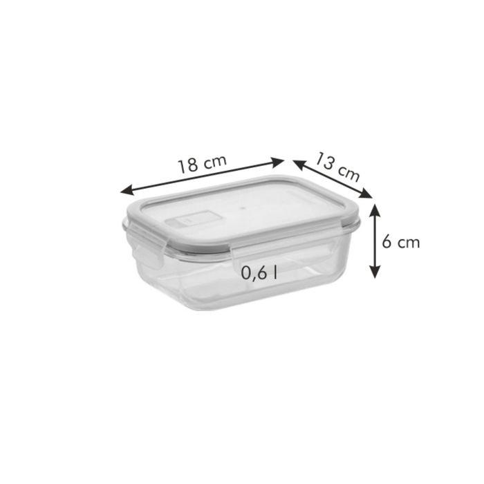Стеклянный контейнер Tescoma FRESHBOX, объём 0,6 л