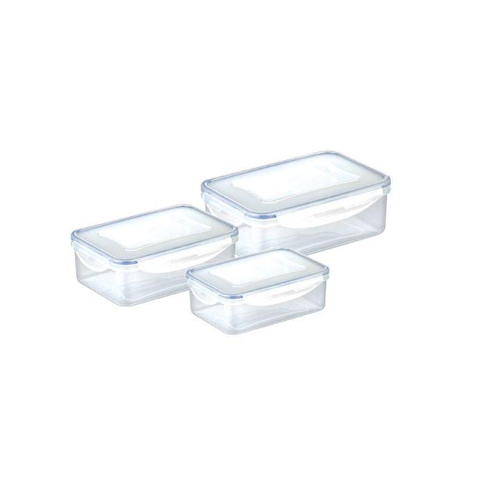Набор контейнеров Tescoma FRESHBOX, объёмы: 1 л, 1,5 л, 2,5 л